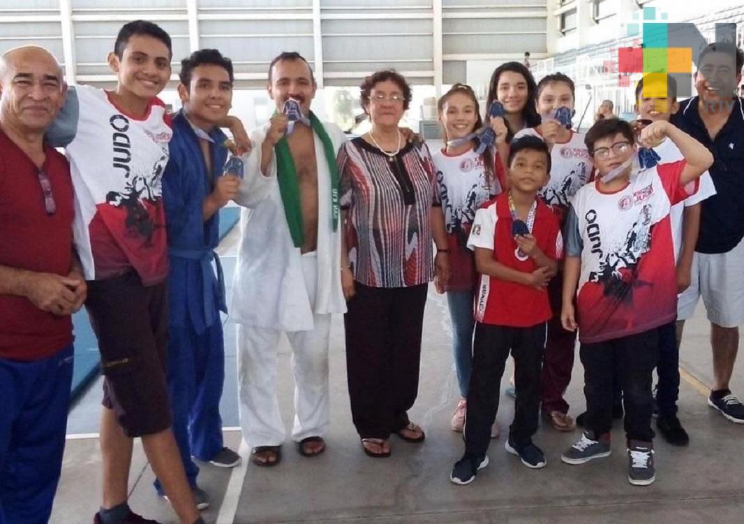 """Selección de Judo de la Universidad de Sotavento Coatzacoalcos obtiene medallas en """"Torneo Nacional Boca Club"""""""