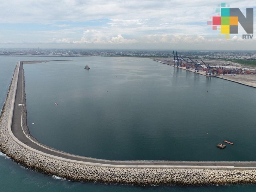 El puerto de Veracruz será el más moderno y con la mejor tecnología del país: Ricardo Ahued