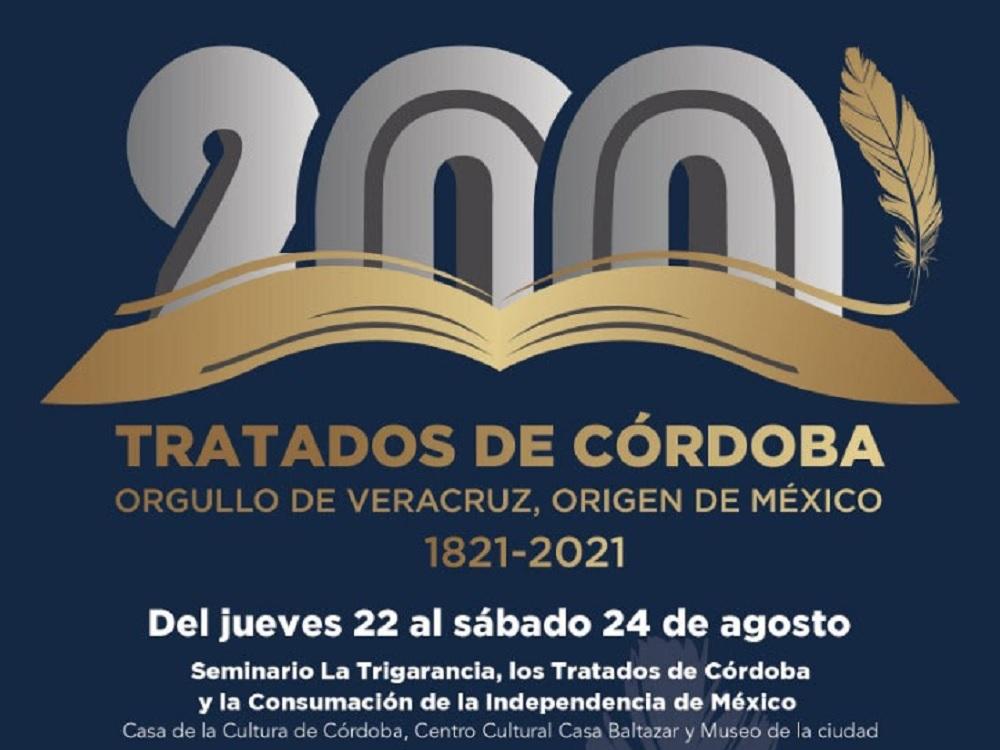Lista celebración por el 198 Aniversario de la firma de los Tratados de Córdoba
