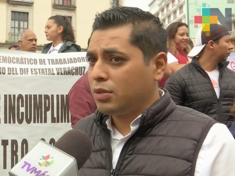 Sindicato del DIF estatal emplaza a huelga