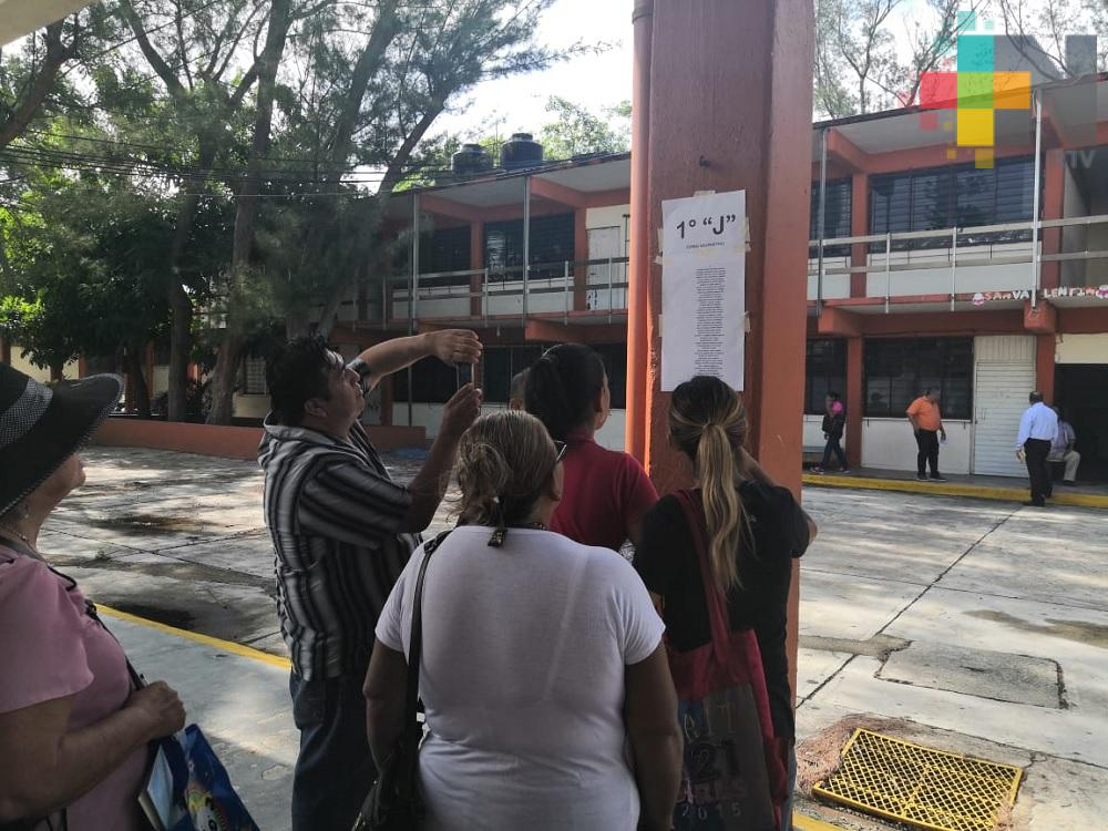 Más de 500 estudiantes fueron aceptados en Secundaria Técnica 19 de Coatzacoalcos