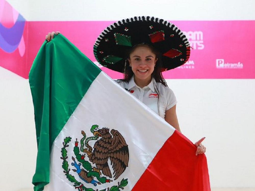 Paola Longoria sigue con historia y suma medalla 23 en Panamericanos