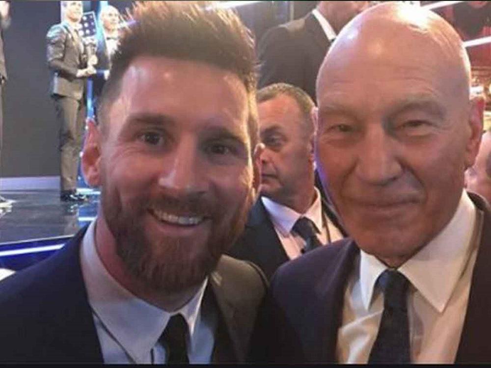 Patrick Stewart cuenta cómo pidió una foto a Lionel Messi