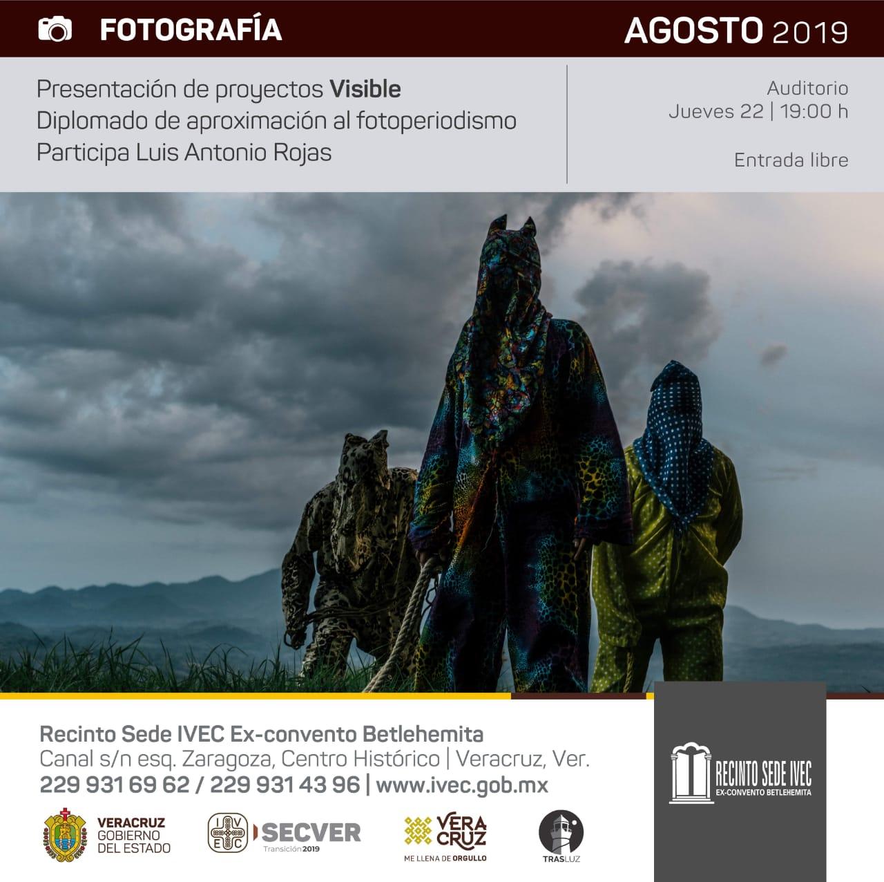 Proyectos del diplomado de fotoperiodismo en Recinto Sede