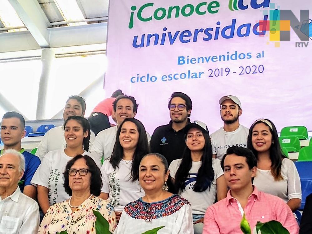 En la UV inauguran ciclo escolar 2019-2020