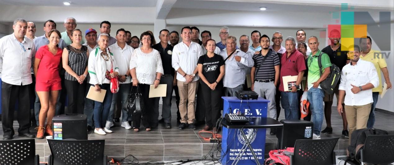 Realiza IVD Reunión con asociaciones deportivas estatales