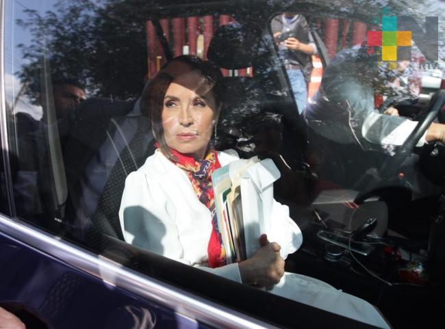 Rosario Robles no será acusada por la FGR; se buscará un acuerdo