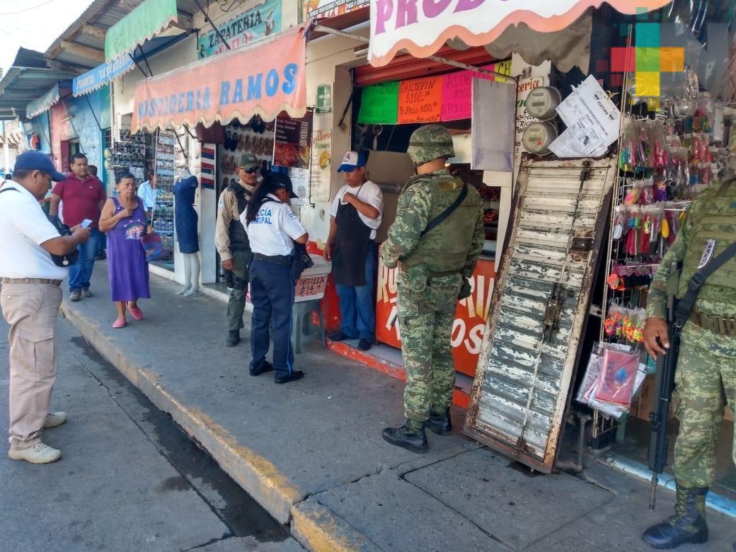 Se capacitan aspirantes a policía en Martínez de la Torre