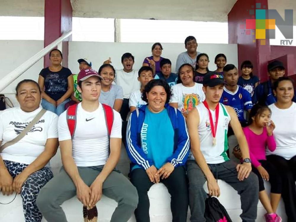 Selección de para atletismo de Coatzacoalcos, lista la Paralimpiada Estatal 2019