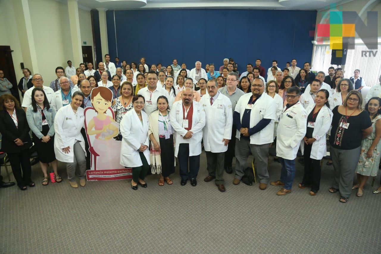 Inaugura Secretaría de Salud simposio de Lactancia Materna