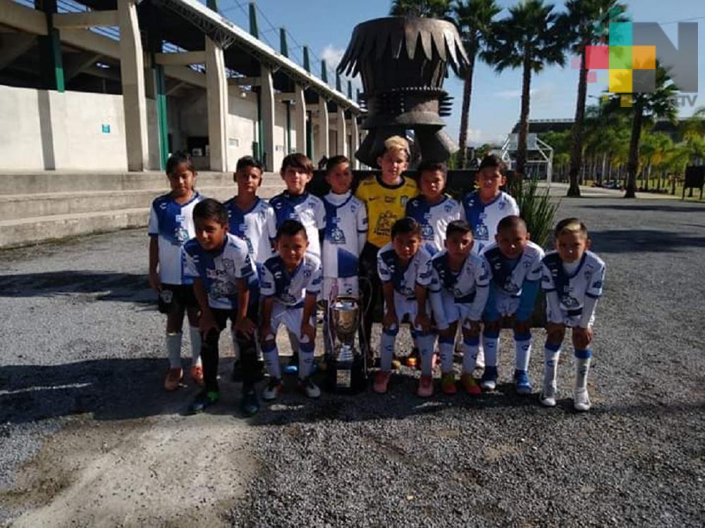 Elementos infantiles de Tuzos Acayucan, cerca de pertenecer al Club Pachuca