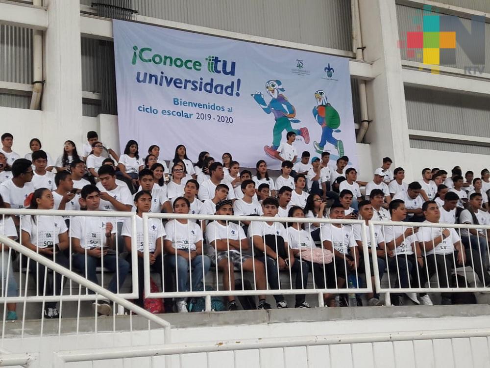 UV da bienvenida a estudiantes de nuevo ingreso en región Veracruz-Boca del Río