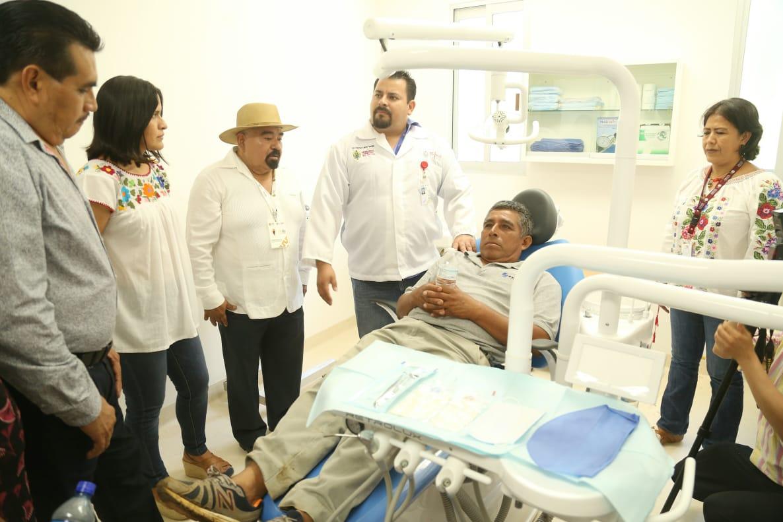 Activa Gobierno del Estado servicios médicos en Centro de Salud de Tatahuicapan