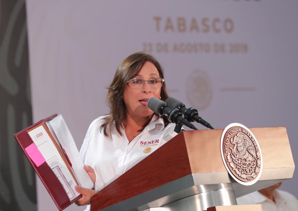 Desmiente Nahle García que Arturo Quintanilla tenga contrato en refinería de Dos Bocas