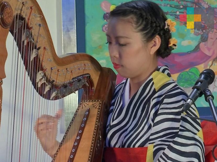 Natsumi Imamura presenta su proyecto musical en Xalapa