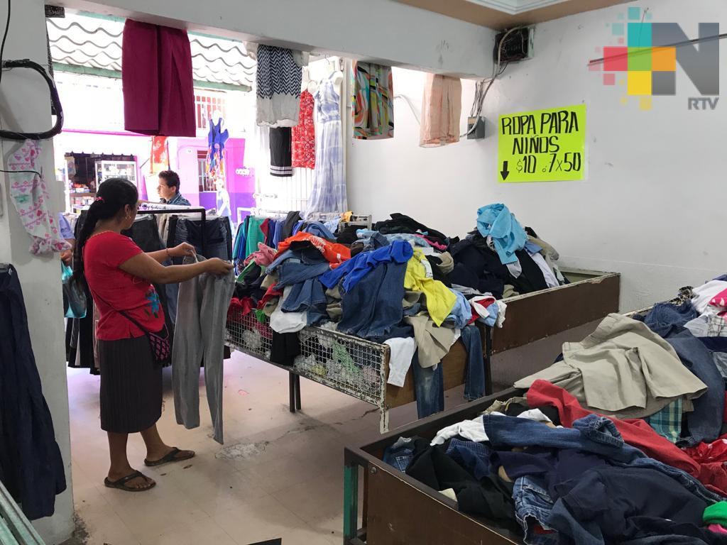 Bazares, comodín económico para las familias