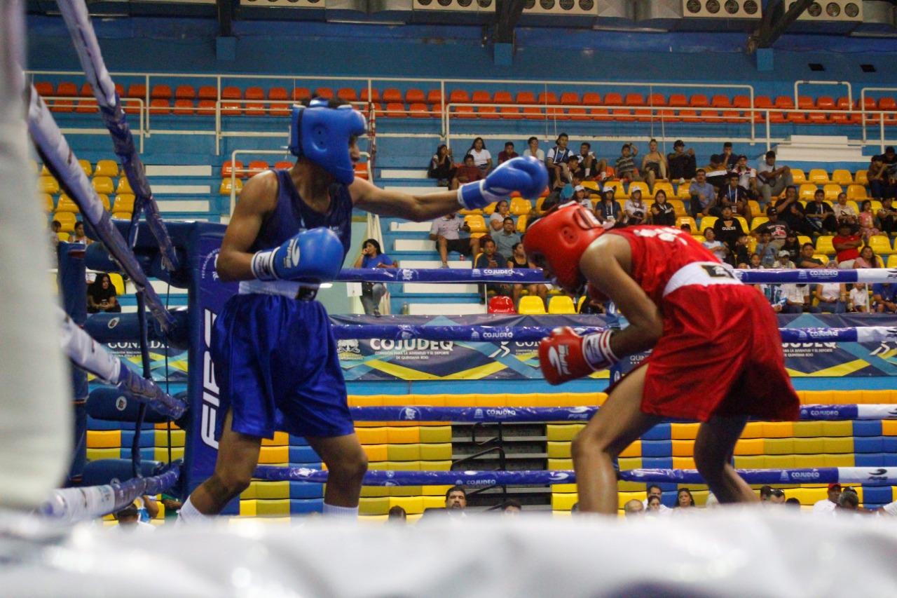 Asisten boxeadores veracruzanos al Festival Olímpico Nacional 2019