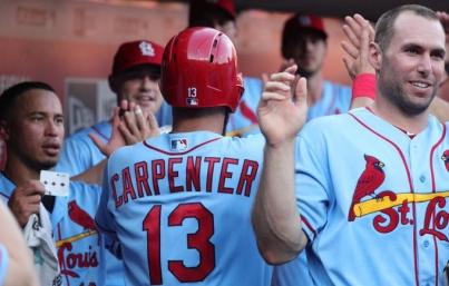 Cardenales y Gallegos salen bien librados ante Rojos en Grandes Ligas