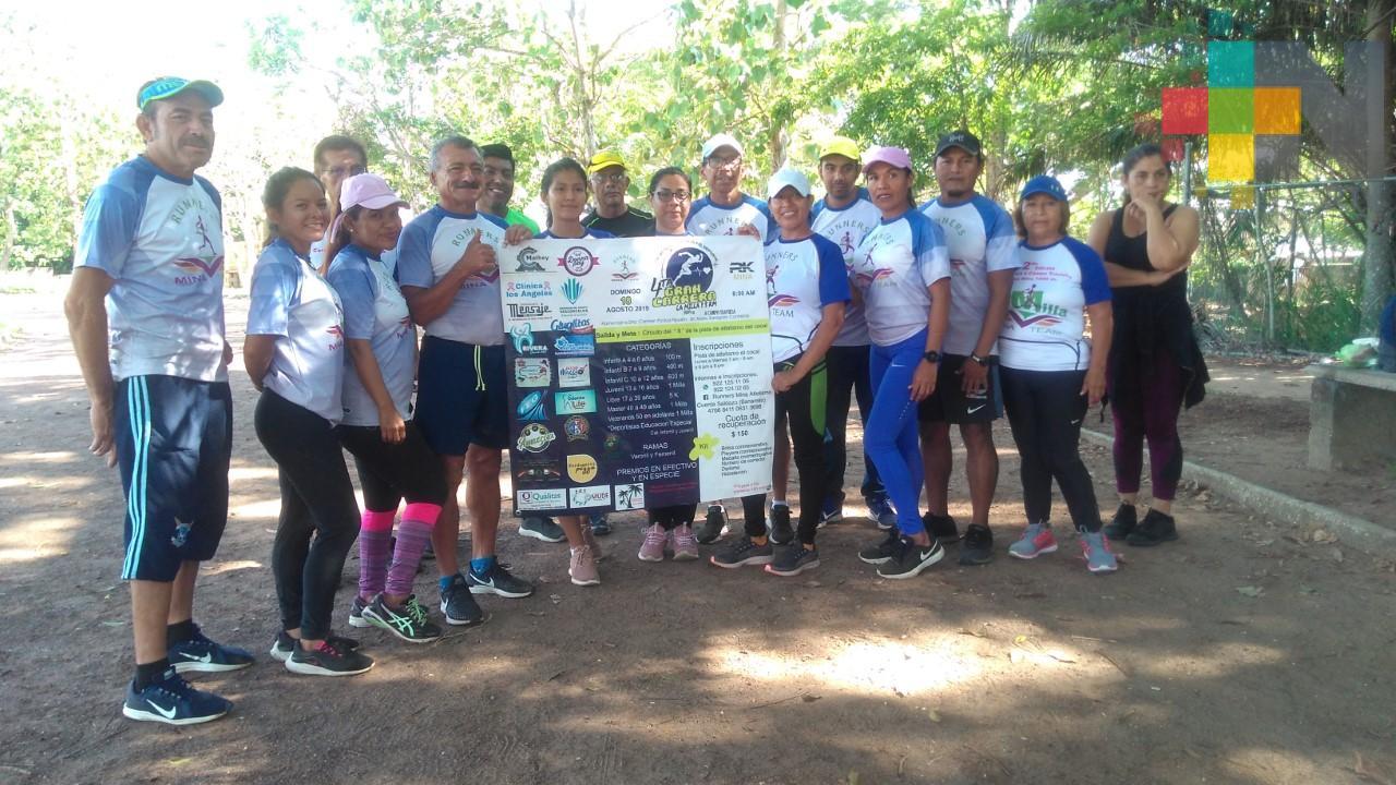 """Invitan el próximo domingo a la carrera """"La Milla"""" en Minatitlán"""