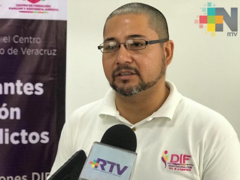 DIF de Coatzacoalcos realizará jornadas itinerantes para atender conflictos familiares