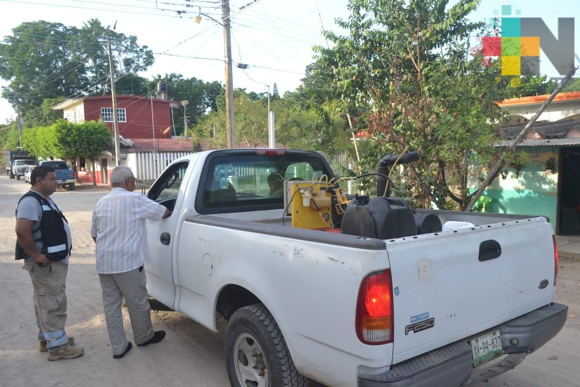 En Tlapacoyan inician trabajos para eliminar dengue