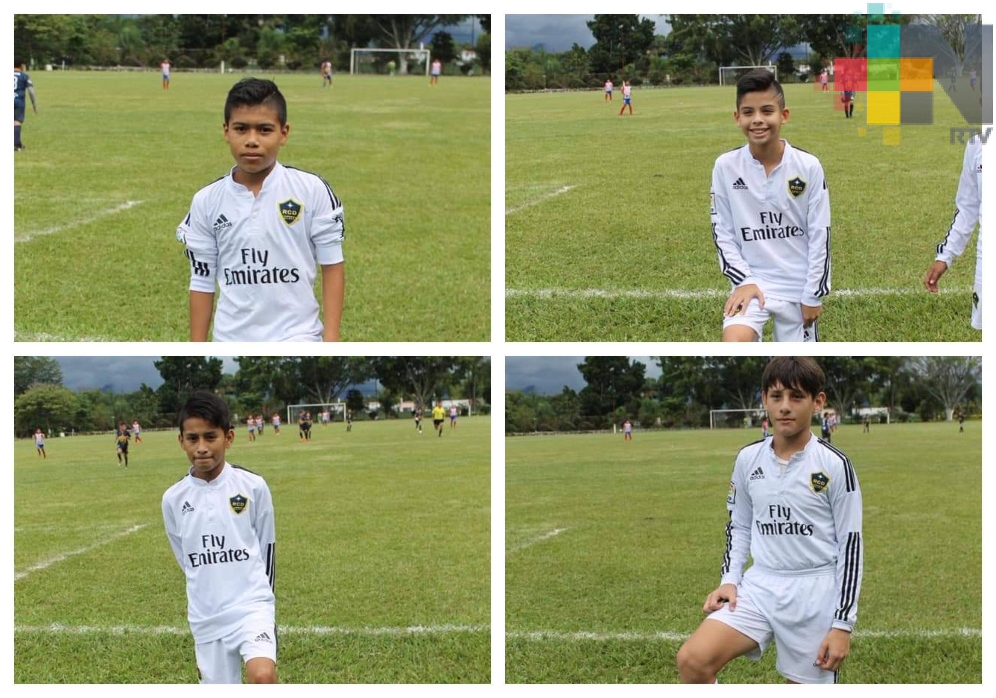 Eligen jugadores de la selección de fútbol sub 8 de Coatzacoalcos, para Club Pachuca