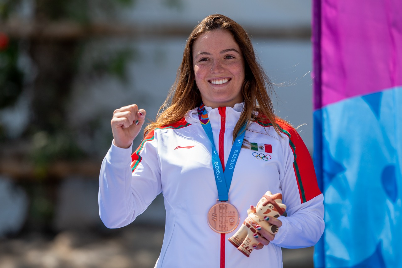 Kayakista veracruzana gana dos bronces en Lima 2019