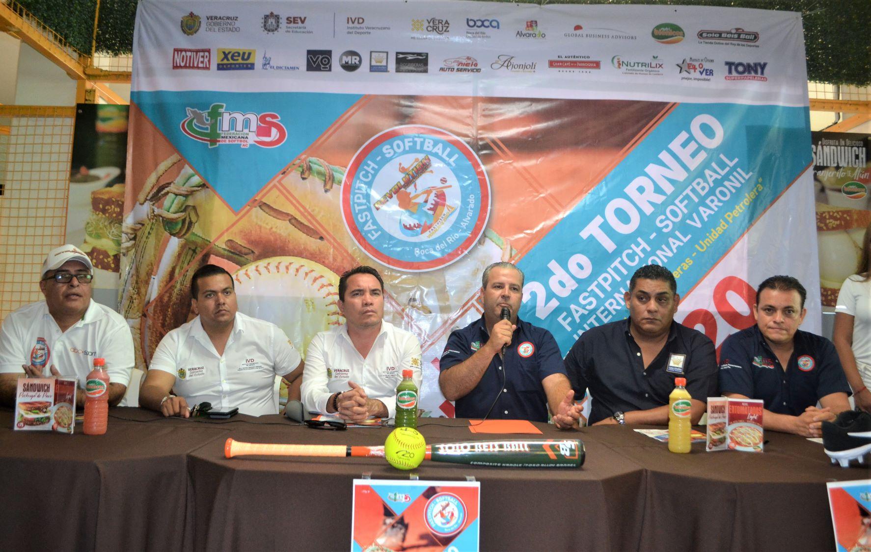 Presentan segundo Torneo Fastpich Softball Internacional 2019