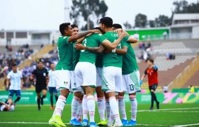 Tri varonil va por su boleto a semifinales en Lima 2019