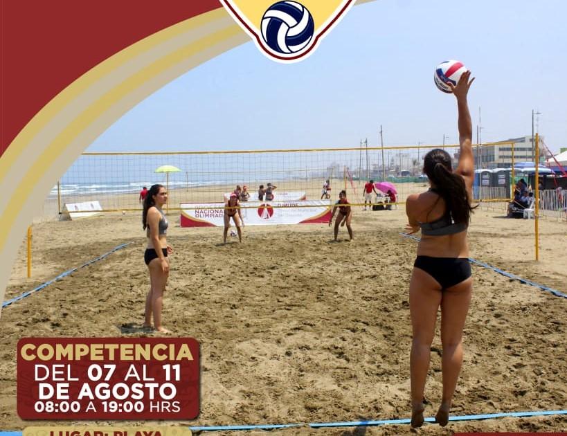 Presentaron Festival Nacional de Voleibol de Playa
