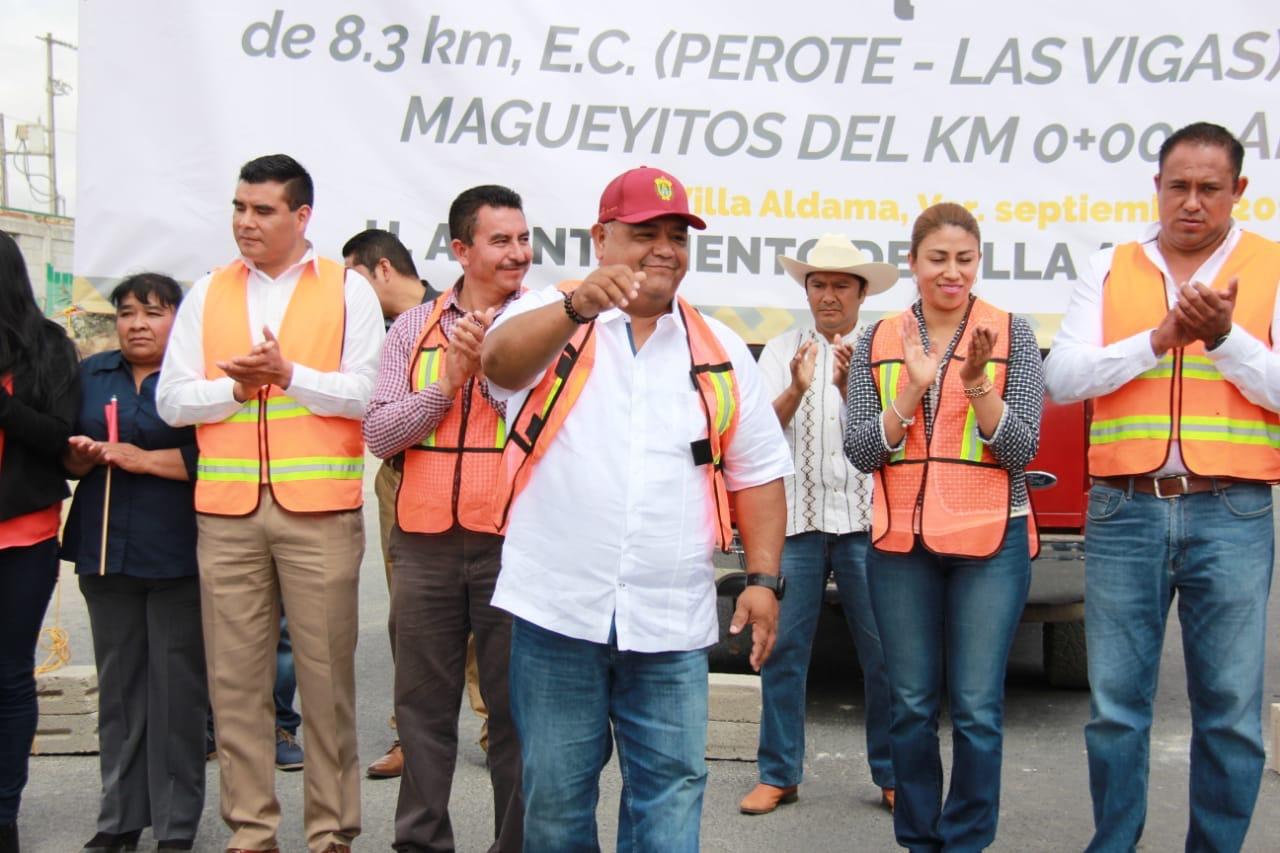 En el gobierno de Cuitláhuac García, se impulsa la recuperación de la infraestructura carretera: Eric Cisneros