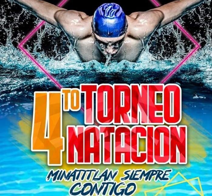 Convocan a Torneo de Natación «Minatitlán, siempre contigo»