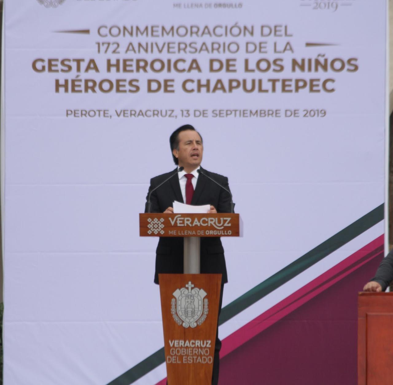 En Veracruz se revalorarán edificaciones que fueron parte de hechos heroicos de México: Cuitláhuac García