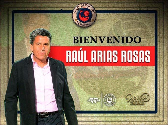Raúl Arias se integra a  Tiburones Rojos