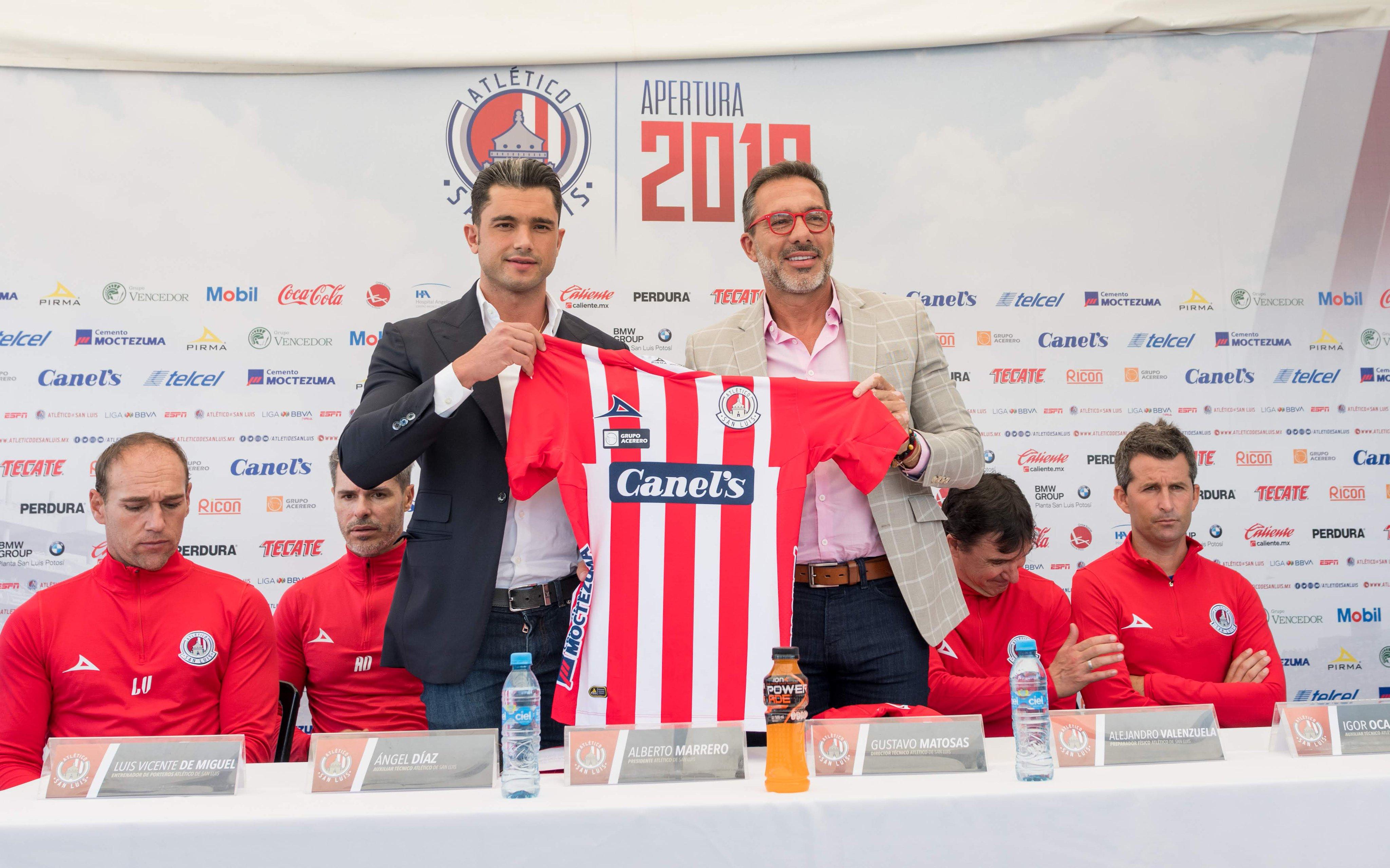 Gustavo Matosas presentado como nuevo director técnico del Atlético San Luis