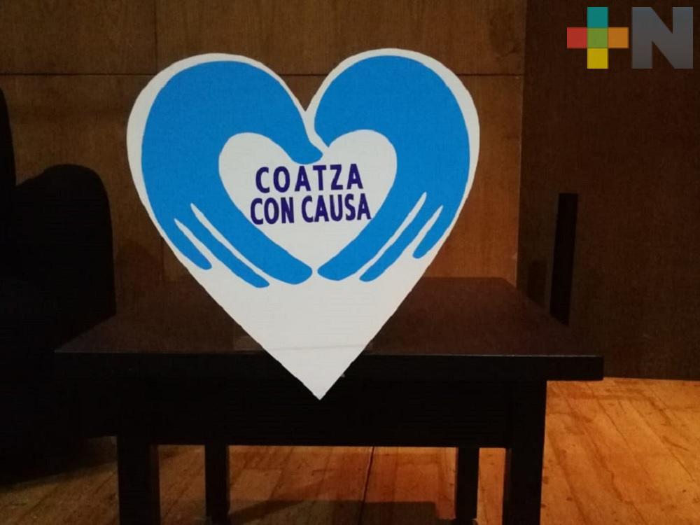 «Coatza con causa» inicia actividades para incentivar hábitos positivos