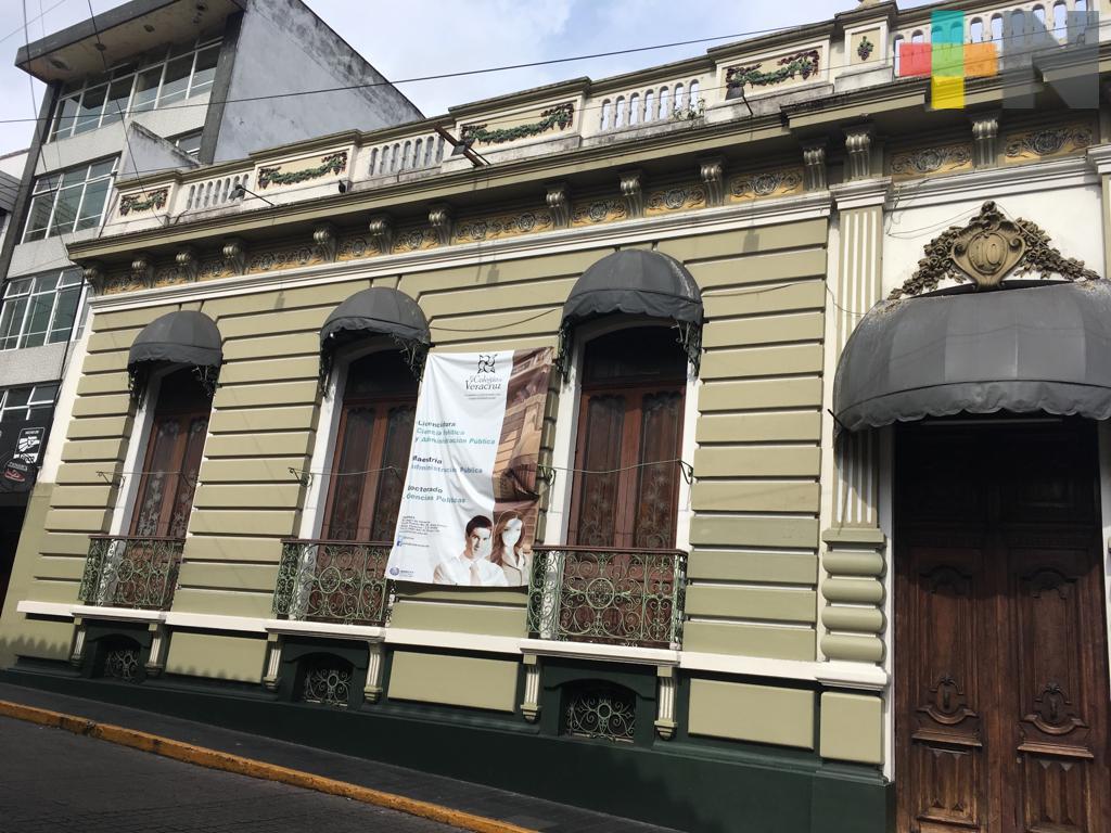 Dotar de identidad al Colegio de Veracruz: Rector