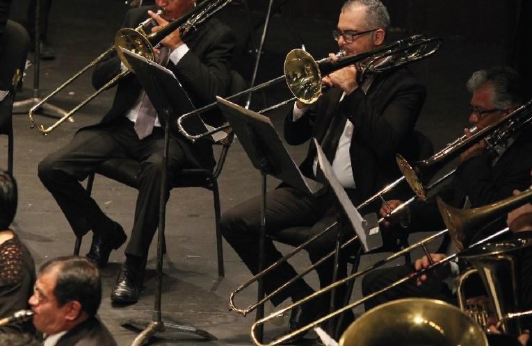 Concierto de gala con la Banda Sinfónica en Teatro del Estado