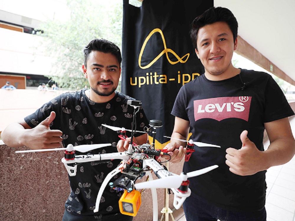 Crean politécnicos dron capaz de localizar a víctimas de inundaciones, sismos e incendios