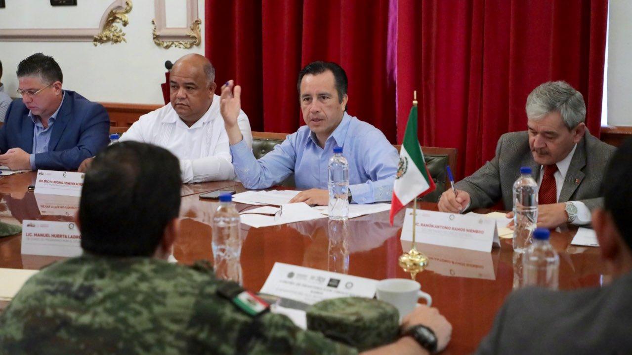 Veracruz, la entidad con más mandamientos judiciales cumplimentados por FGR: Cuitláhuac García