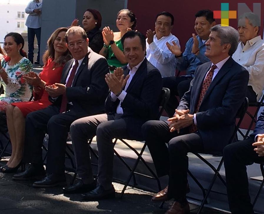 Descarta gobernador Cuitláhuac García que Leslie Garibo asuma otro cargo en su administración