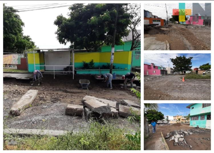Deslave de tierra afecta a Jardín de Niños del municipio de Veracruz