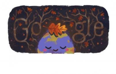 Doodle celebra el primer día del otoño en el hemisferio norte