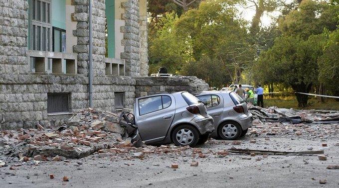 Albania vive terremoto más intenso en 30 años