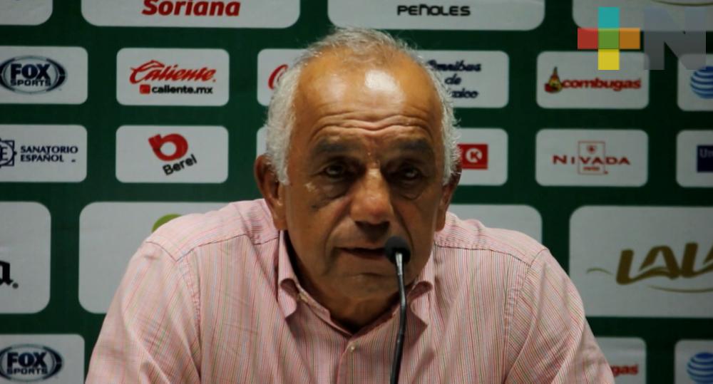 «El equipo tiene una idea para jugar»: López Zarza