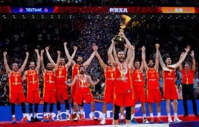 España se corona invicta en Copa del Mundo de Baloncesto China 2019
