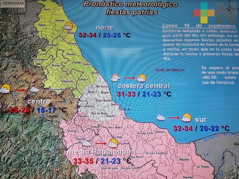 Este fin de semana habrá lluvias en todo el territorio veracruzano: Conagua