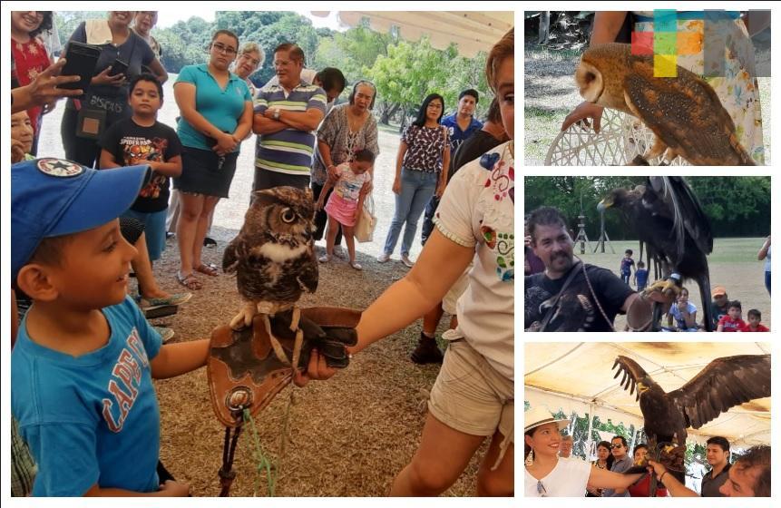 Gran respuesta de las familias tuxpeñas en el segundo Festival de las Aves