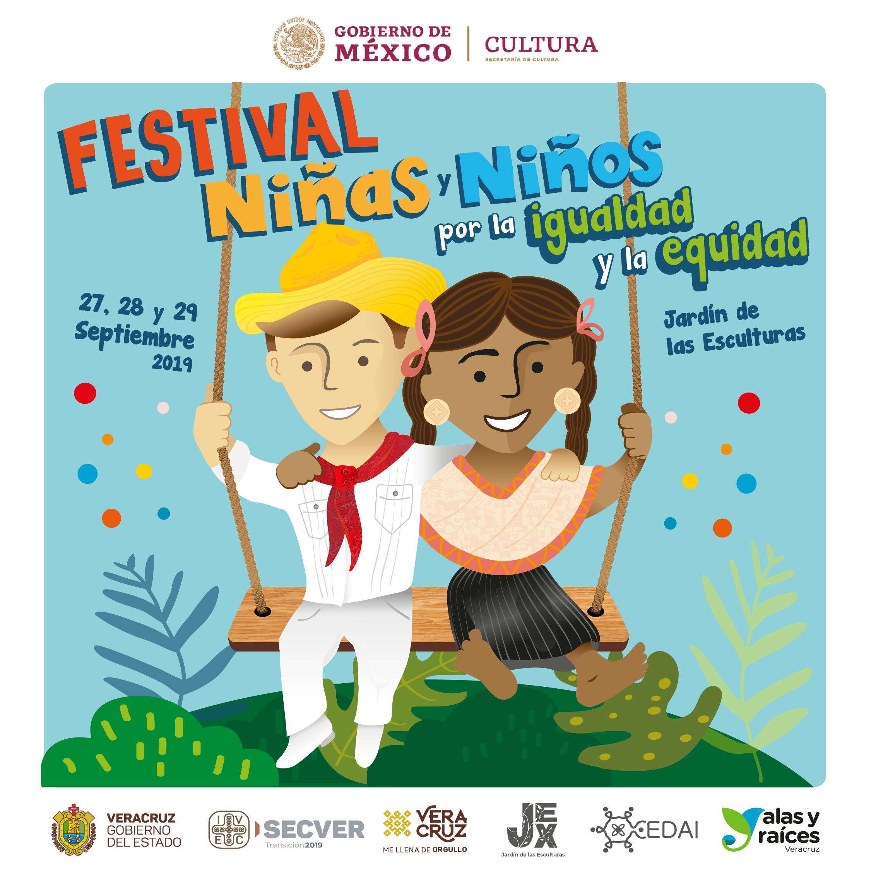 Presenta IVEC Festival Niños y Niñas por la Igualdad y la Equidad