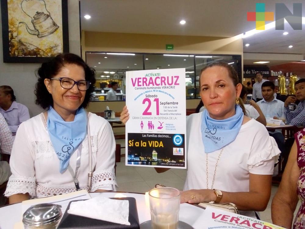 FNF realizará en Veracruz marcha en defensa de la vida